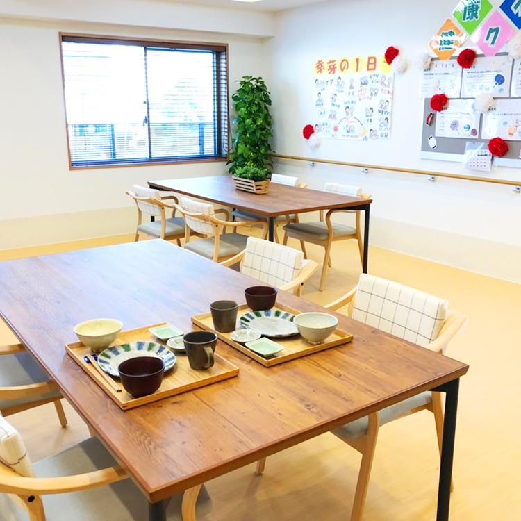 2F食堂・機能訓練室趣味の時間にもご利用いただけます。
